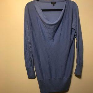 Baby blue drop neck sweater